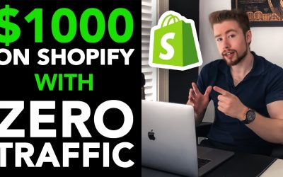 The Easiest Way To Make $1000 A Day With Shopify (With ZERO Sales)