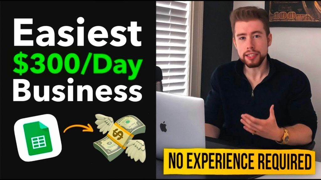 The Easiest $300/Day Idiot Proof Business Model For Complete Beginners That Requires Zero Skill or Experience